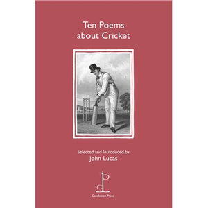 Poetry Instead of a Card - Ten Poems about Cricket