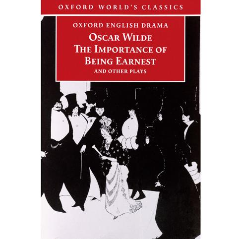 The Importance of Being Earnest by Oscar Wilde Poster