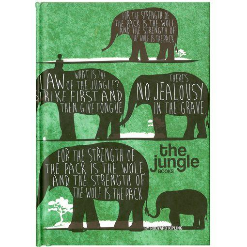 The Jungle Book Notebook