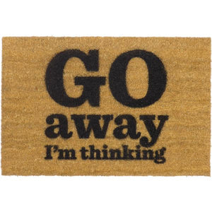 Go Away I'm Thinking Doormat