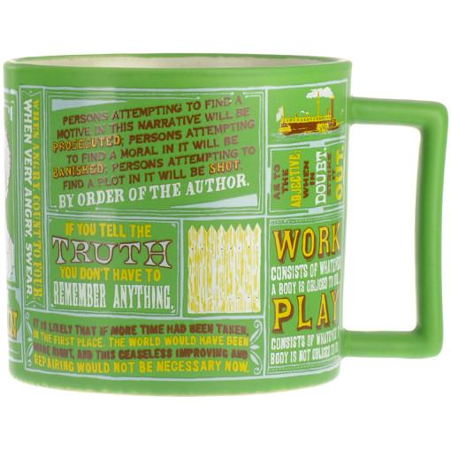 Mark Twain Quotations Mug