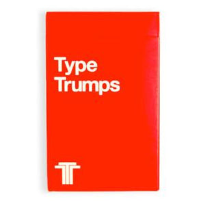 Type Trumps Cards