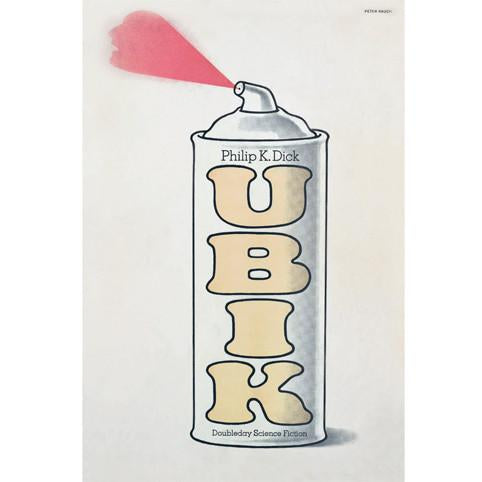 Ubik by Philip K. Dick Poster