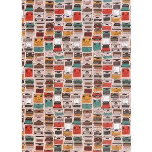 Typewriters Wrapping Paper