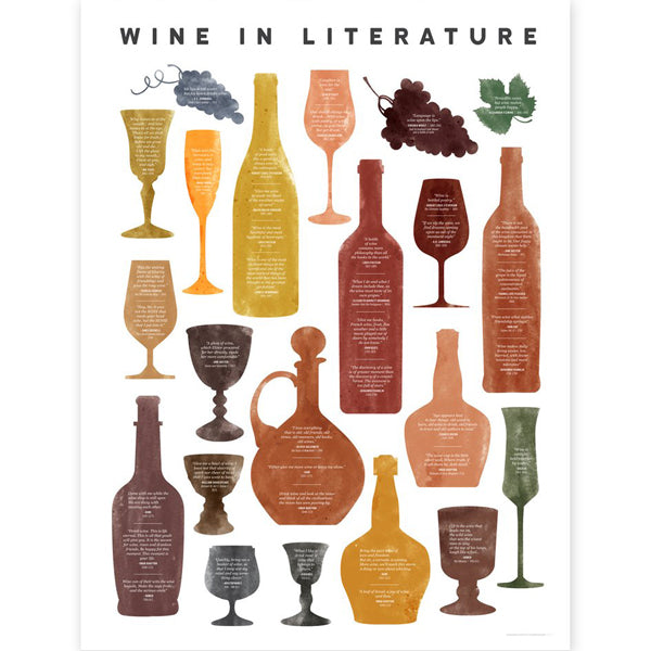 Wine in Literature Chart