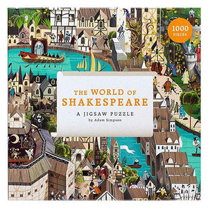 The World Of Shakespeare Jigsaw Puzzle