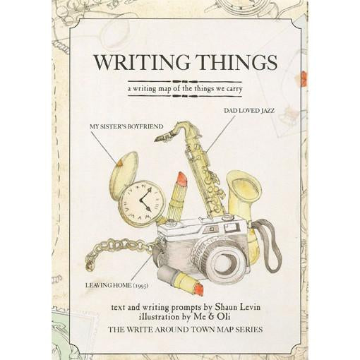 Writing Things - A Writing Map of Things We Carry