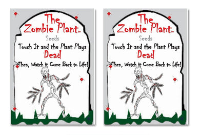 Zombie Plant Seed Packets from TickleMePlant.com