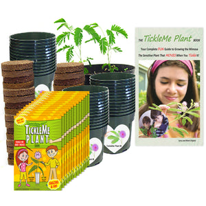 TickleMe Plant Classroom Science Party kit - For 30 Students!