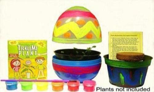 TickleMe Plant EASTER EGG TERRARIUM with Paint Set!