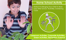 "Zombie Plant Classroom or Homeschool Science Fun Planting Party kit - for 30 Students - Grow The House Plant That ""Plays Dead When You Touch it! Includes The Zombie Plant Book."
