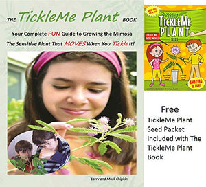 TickleMe Plant Book with ONE Packet of TickleMe Plant Seeds