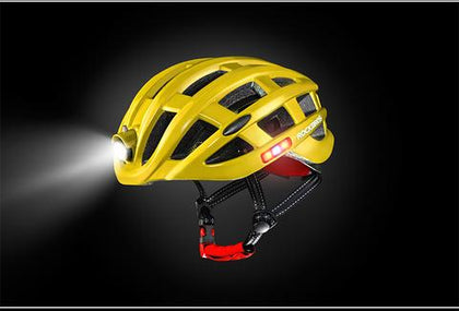 Casco con luz led 360º