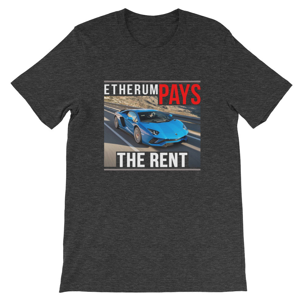 ETHEREUM PAYS THE RENT TEE SHIRT