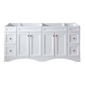 "Talisa 72"" Cabinet Only in White"