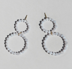 Saskia Diez - Holiday Earring No2 - Chalcedon