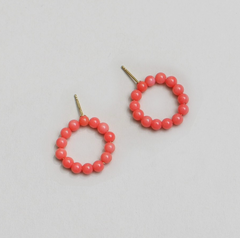 Saskia Diez - Holiday Earring No1 - Coral