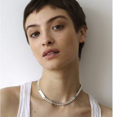 Saskia Diez - Grand Identity Necklace Choker - Gold