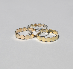 Saskia Diez - Paillettes Multi No.1 Ring - Gold