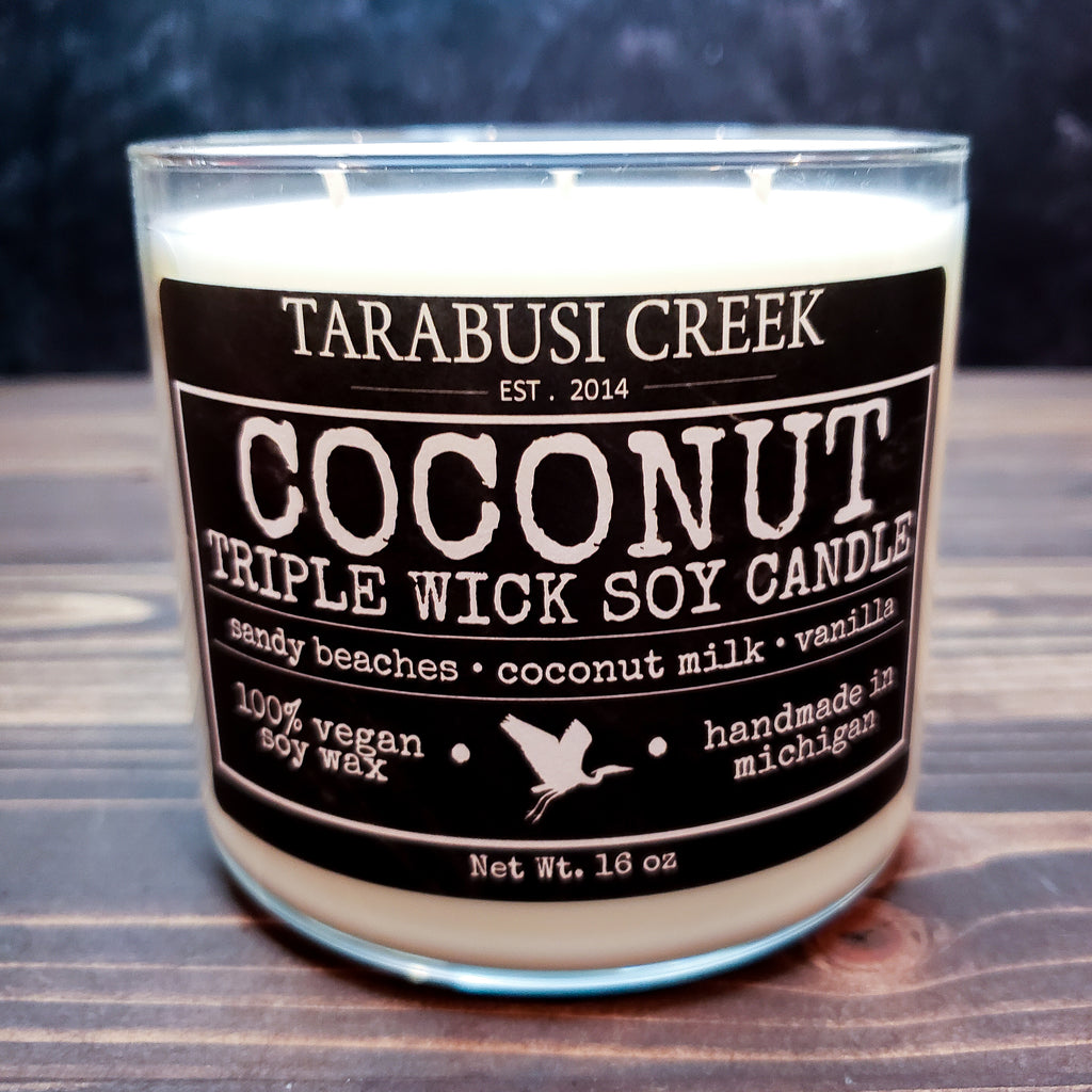 Coconut 16 oz Tumbler Candle