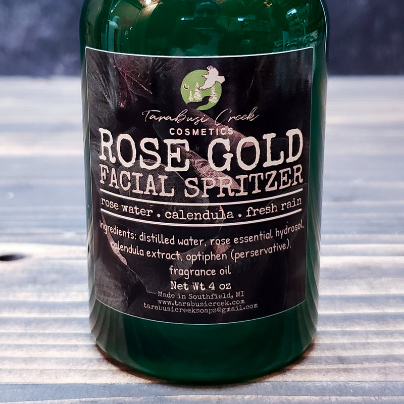 Rose Gold Facial Spritzer
