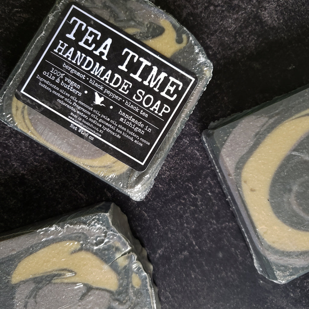 Tea Time Soap Bar