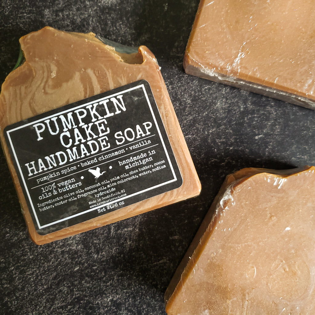 Pumpkin Cake Soap Bar
