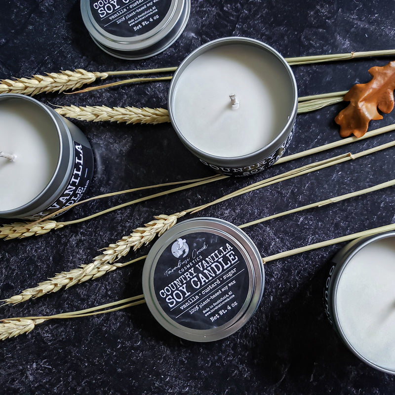 Country Vanilla Soy Candle