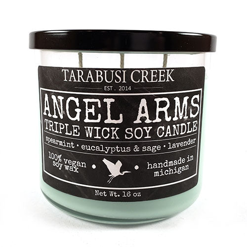Angel Arms 16 oz Tumbler Candle