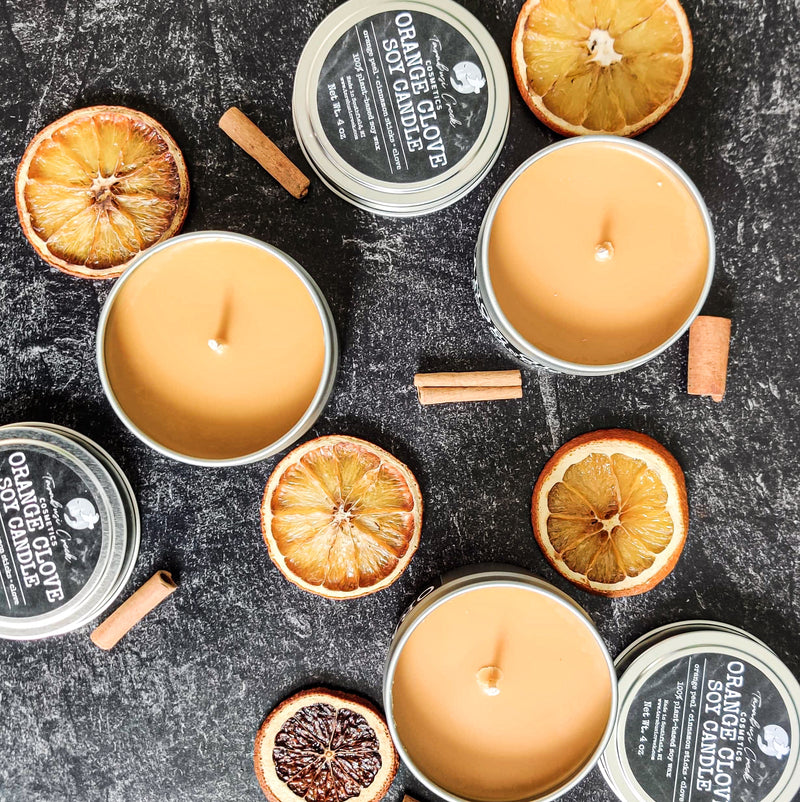 Orange Clove Soy Candle
