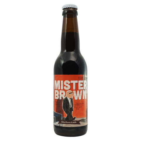 Mister Brown - The Piggy Brewing Company - Châtel-Saint-Germain
