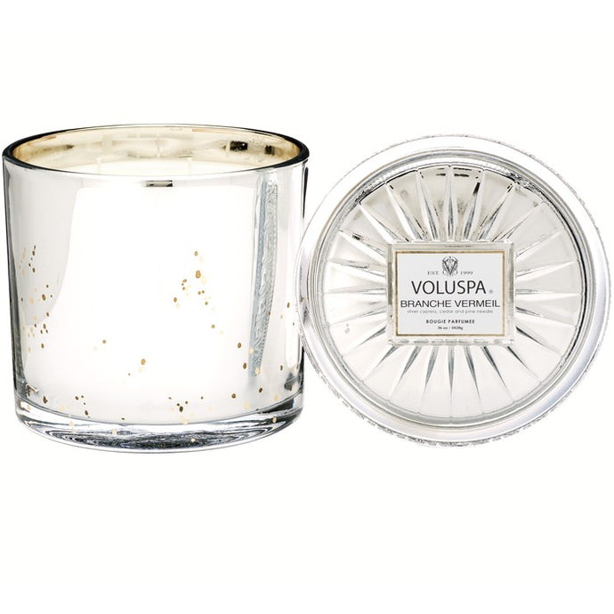 3 Wick Candle - Branche Vermeil