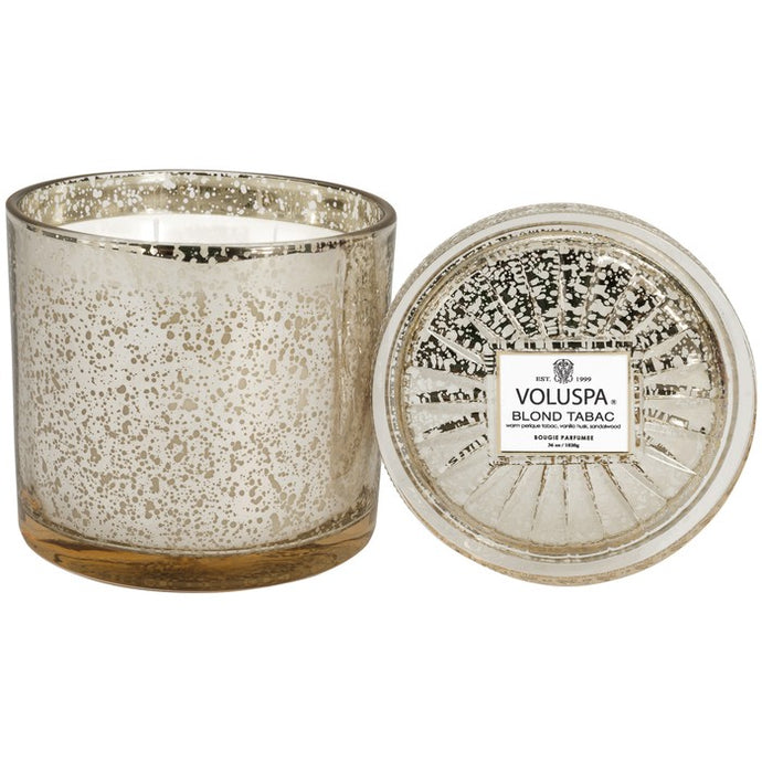 3 Wick Candle - Blond Tabac