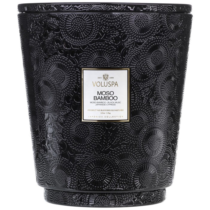 MOSO BAMBOO - 5 Wick Candle