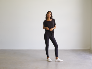 CLASSIC LEGGING WITH PERFECT CONTROL - Black