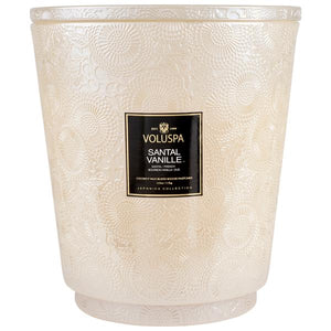 SANTAL VANILLE - 5 Wick Candle