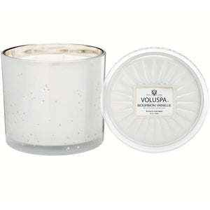 3 Wick Candle- Bourbon Vanille