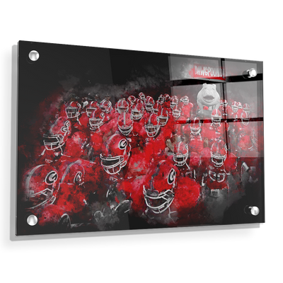 Georgia Bulldogs - Dawg Pound - College Wall Art #Acrylic