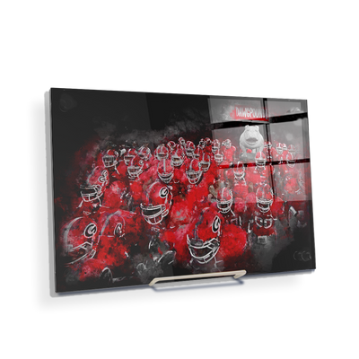 Georgia Bulldogs - Dawg Pound - College Wall Art #Acrylic Mini