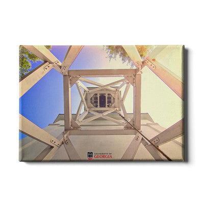 Georgia Bulldogs - A Look into the Chapel Bell - College Wall Art #Canvas