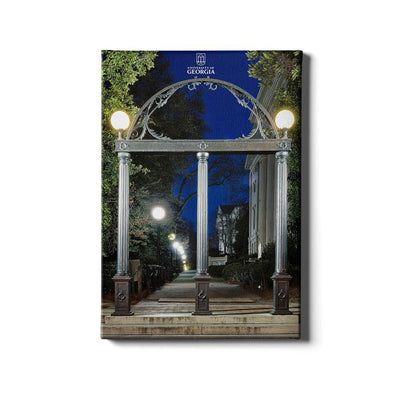 Georgia Bulldogs - Through the Arch - College Wall Art #Canvas