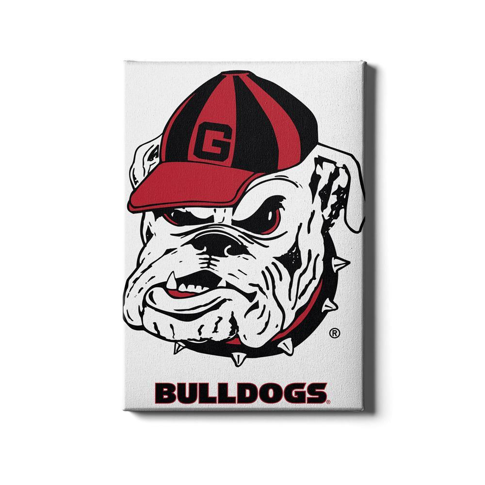Georgia Bulldogs - Bulldogs - College Wall Art #Canvas