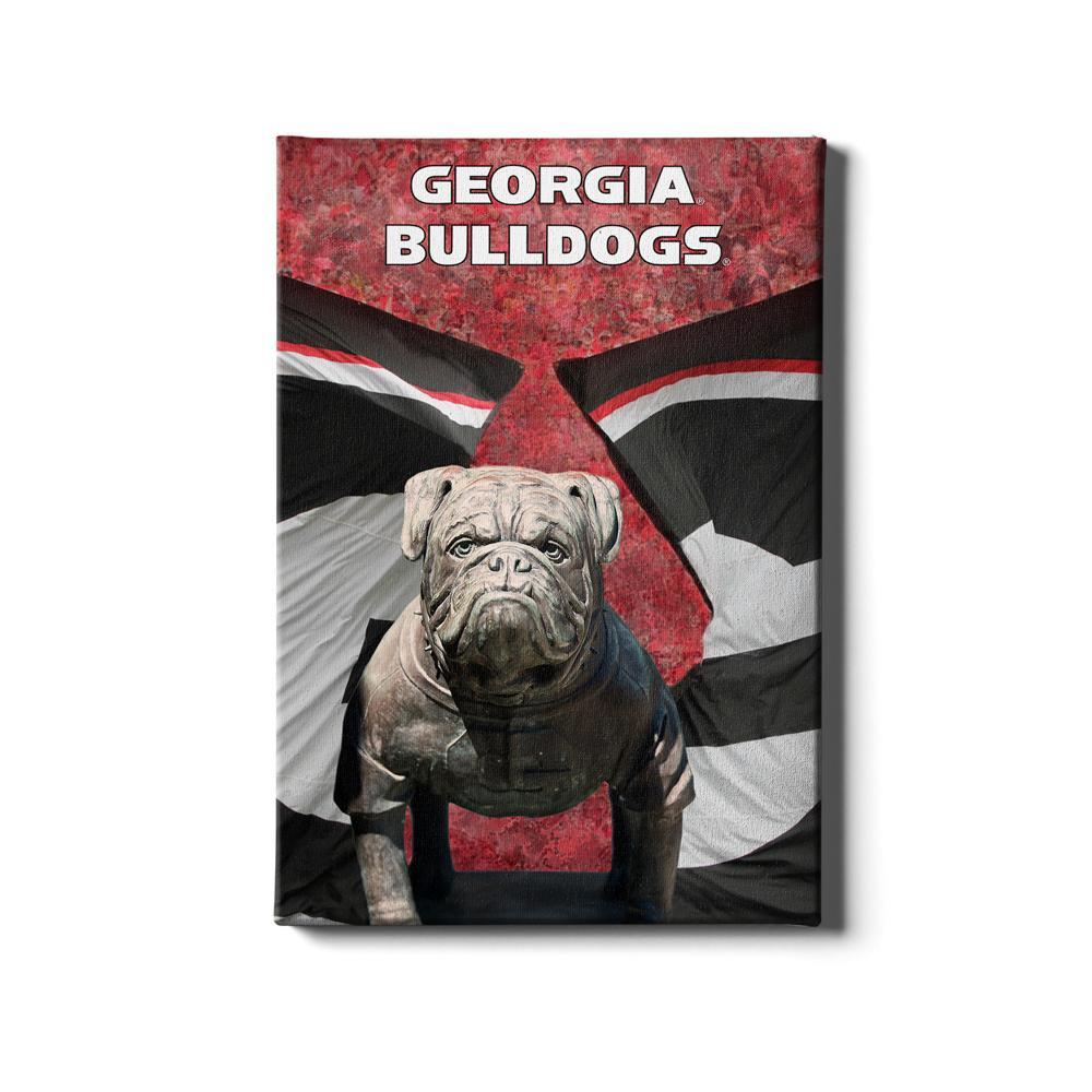 Georgia Bulldogs - Georgia Bulldogs - College Wall Art #Canvas