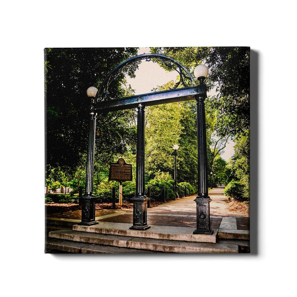Georgia Bulldogs - The Arch - College Wall Art #Canvas