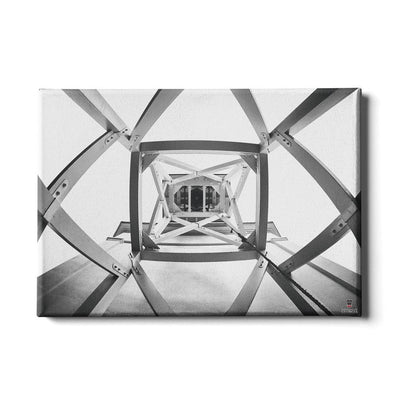 Georgia Bulldogs - Ring the Bell - College Wall Art #Canvas
