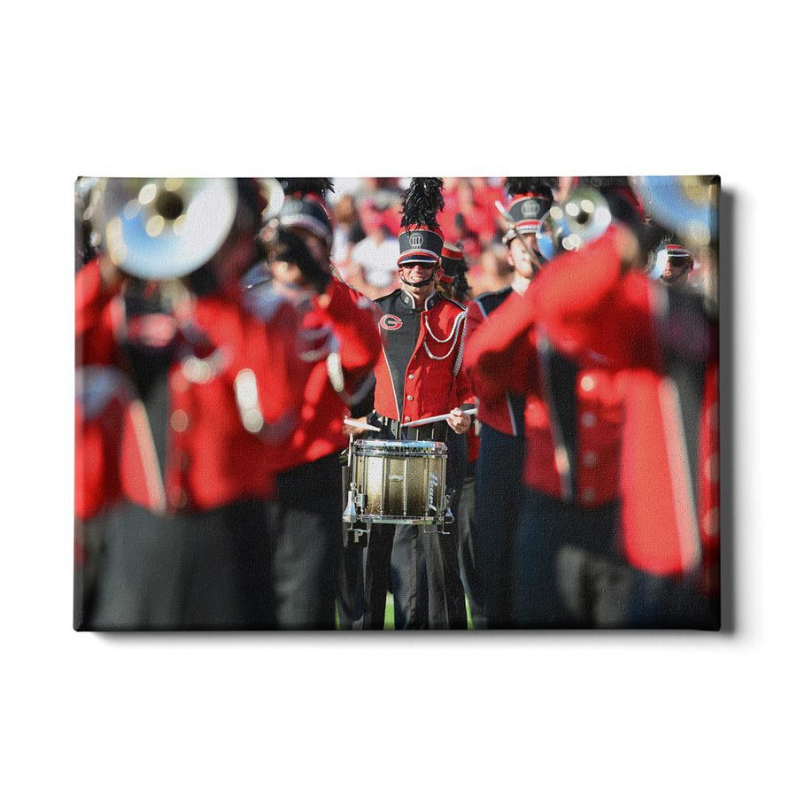 Georgia Bulldogs - Redcoat - College Wall Art #Canvas