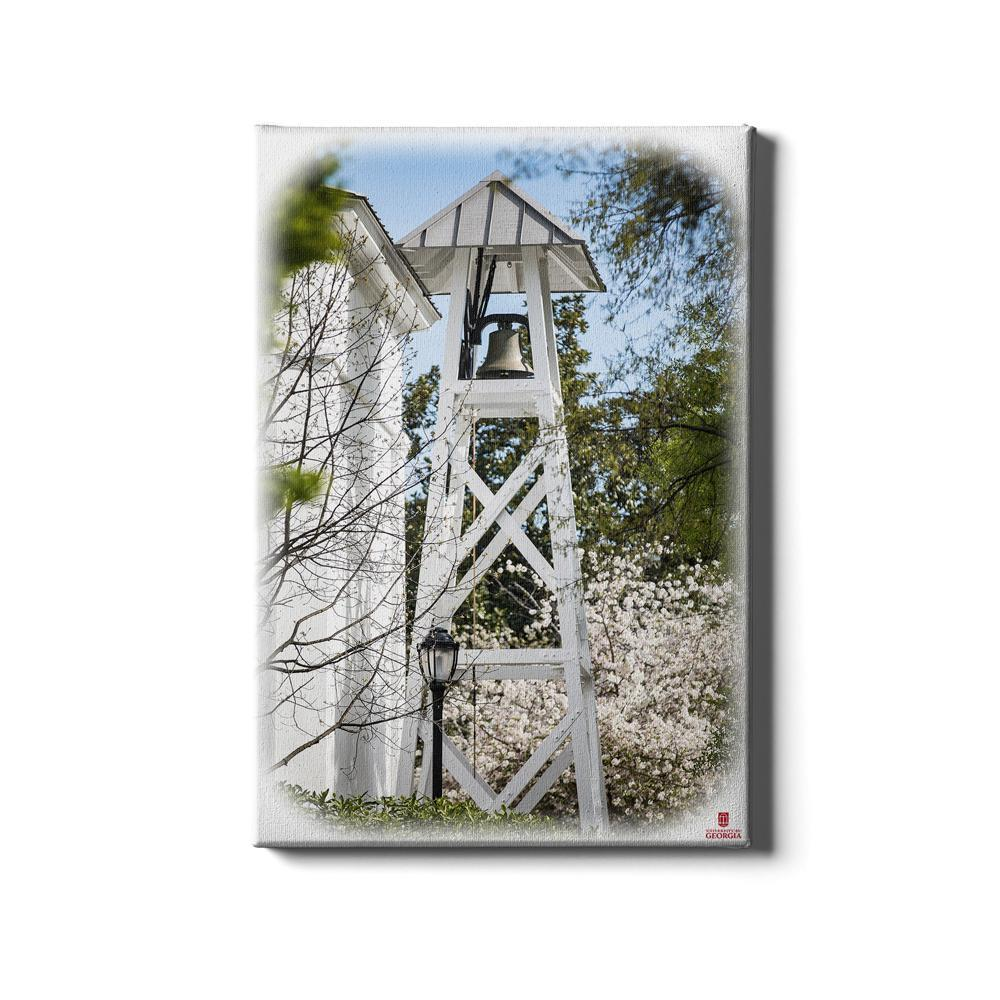Georgia Bulldogs - Spring Chapel Bell - College Wall Art #Canvas