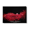 Georgia Bulldogs - Sanford Red Lights Georgia vs. Notre Dame - College Wall Art #Canvas