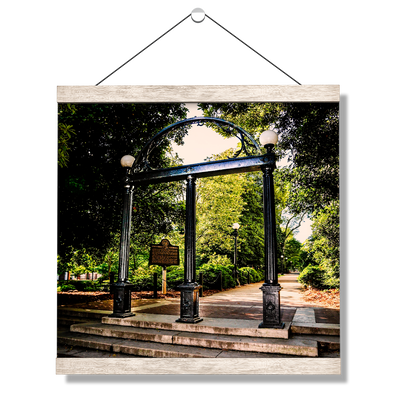 Georgia Bulldogs - The Arch - College Wall Art #Hanging Canvas