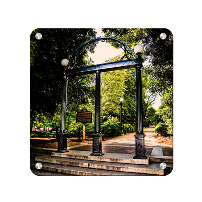 Georgia Bulldogs - The Arch - College Wall Art #Metal